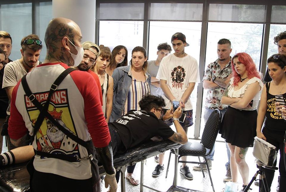 Seminario de Cover Up Mauro Scorpions - 2018